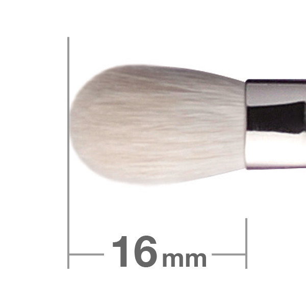 Кисть для теней HAKUHODO J5523 Eye Shadow Brush Round & Flat