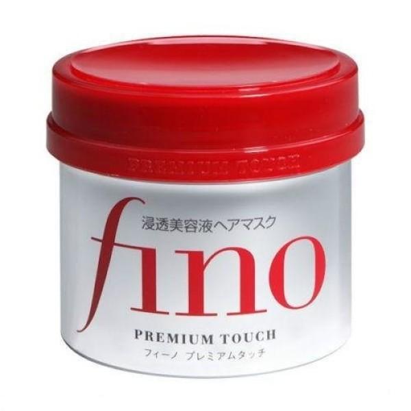 Маска - лечение для повреждённых волос SHISEIDO Fino Premium Touch с пчелинным маточным молочком и скваланом
