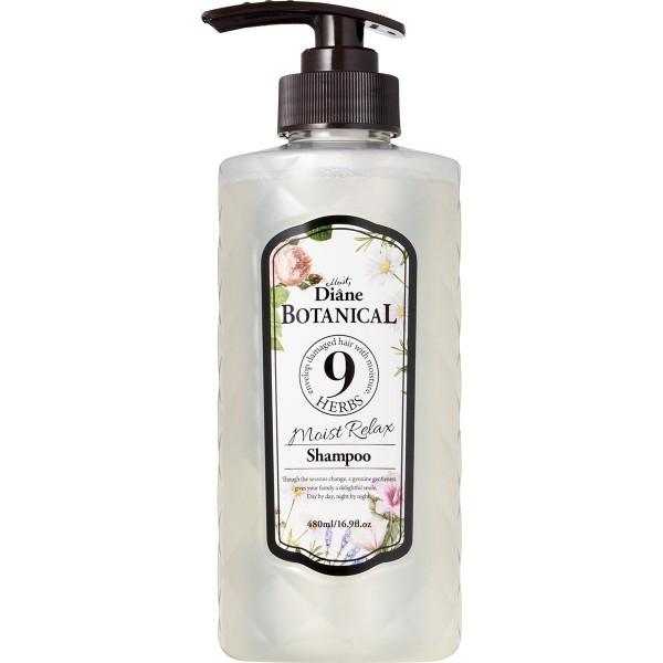 Органический шампунь для блеска волос Moist Diane Botanical Moist Relax Shampoo