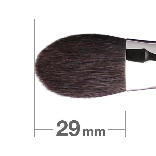 Кисть для хайлайтера HAKUHODO Highlighter Brush Round & Flat B116