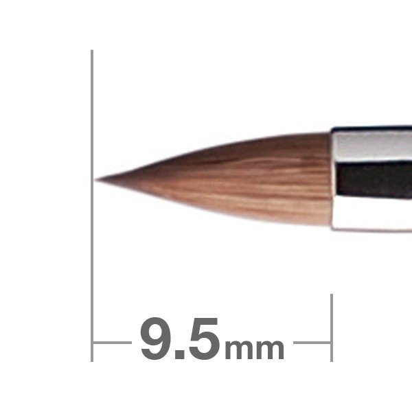 Кисть для губ HAKUHODOD Lip Brush Round & Flat K009