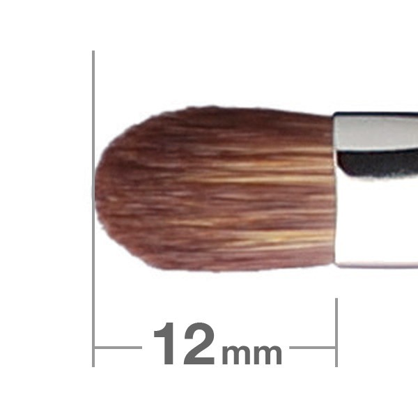 Кисточка для теней HAKUHODO Eye Shadow Brush Round & Flat 243