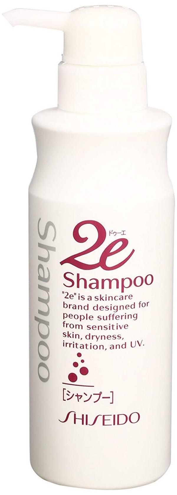 Шампунь Shiseido 2e Hair Shampoo for Sensitive Skin для чувствительной кожи головы