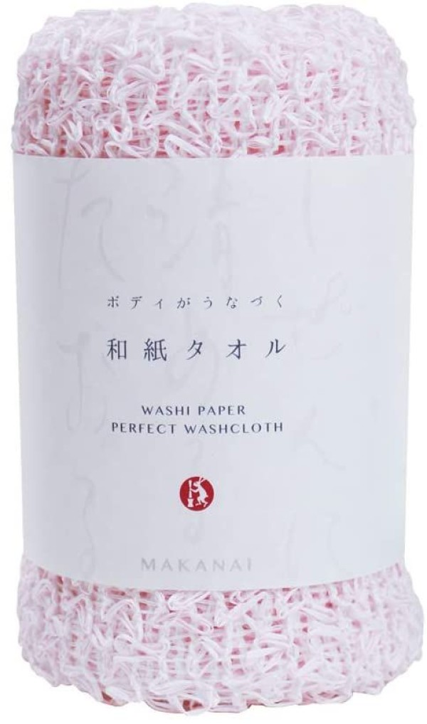 Мочалка для тела Makanai Cosmetics (розовая)