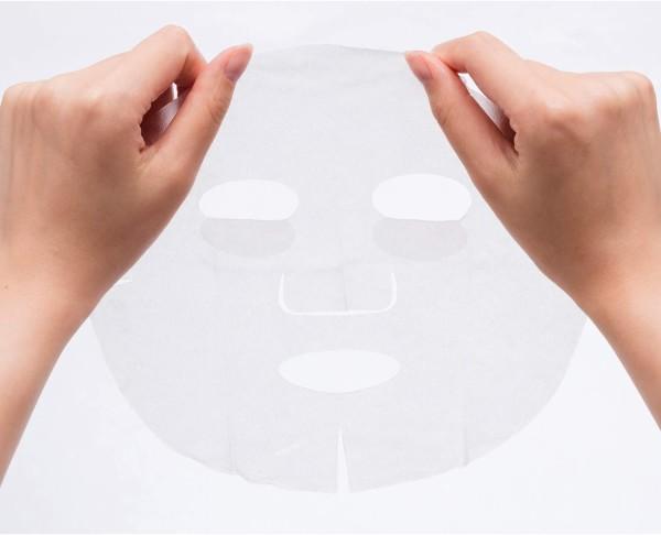 Осветляющая увлажняющая маска с гиалуроновой кислотой и экстрактом бузины Kose Clear Turn White Mask Hyaluronic Acid
