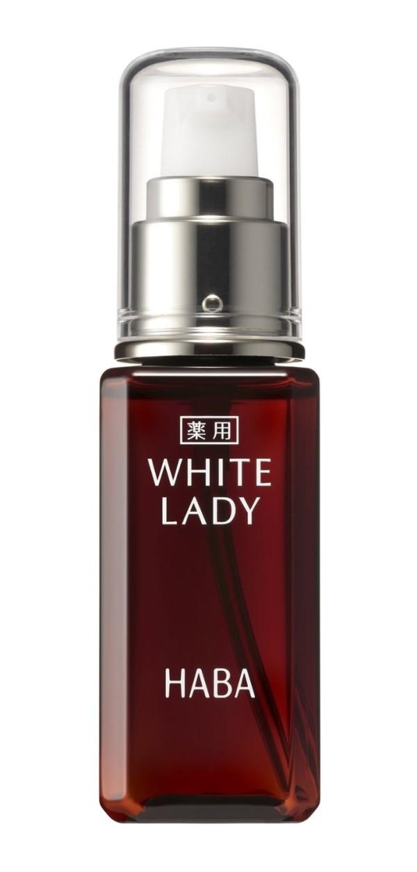 Отбеливающая сыворотка для лица Haba White Lady с витамином С и экстрактом бамбука