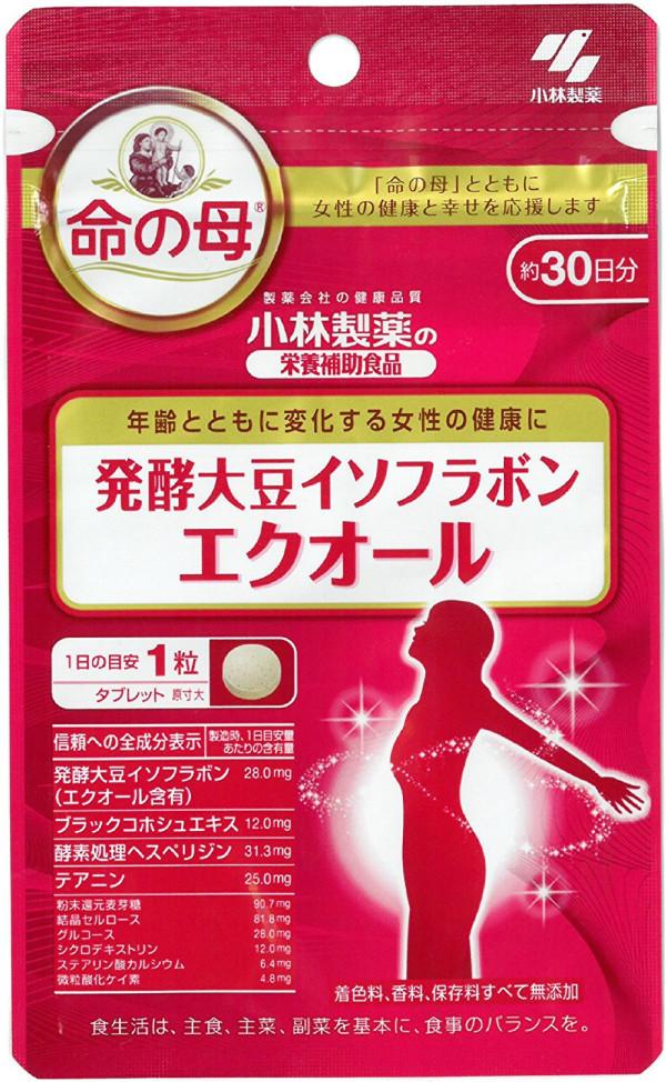 Комплекс с ферментированными изофлавонами сои для женского здоровья Kobayashi Equol
