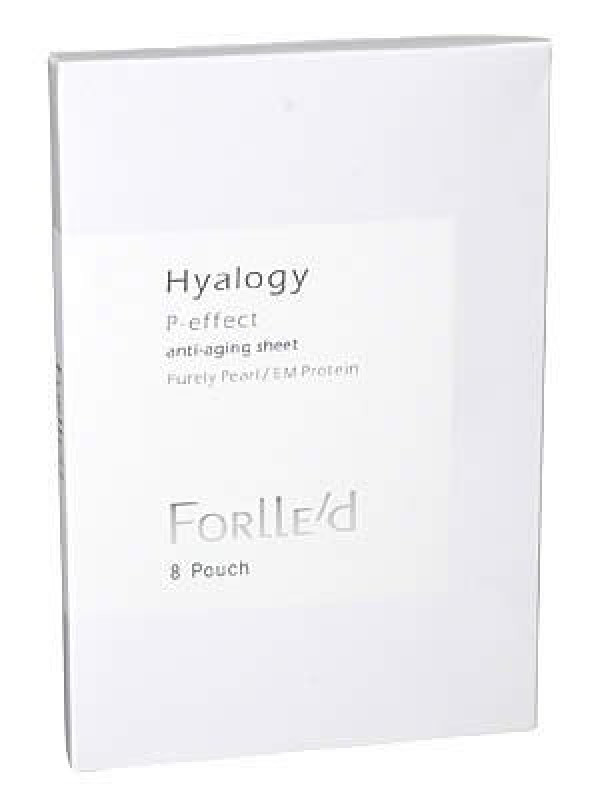 Патчи для глаз Hyalogy P-effect anti-aging sheet FORLLE'd