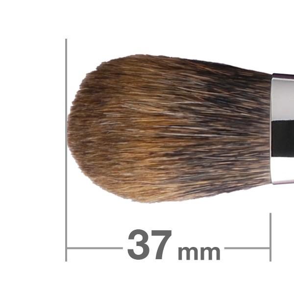 Кисть для румян HAKUHODO Blush Brush Round & Flat K008