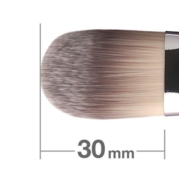 Кисть для основы HAKUHODO Foundation Brush Round & Flat G519