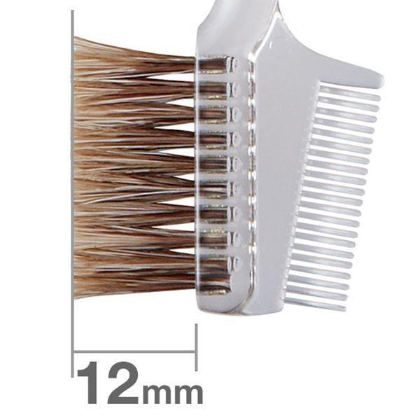 Кисть для бровей HAKUHODO Brow Comb Brush Transparent S195Bk