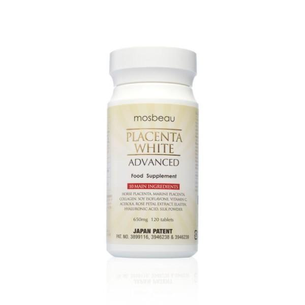 Плацентарная добавка Mosbеаu Placenta White Advance для омоложения и отбеливания кожи