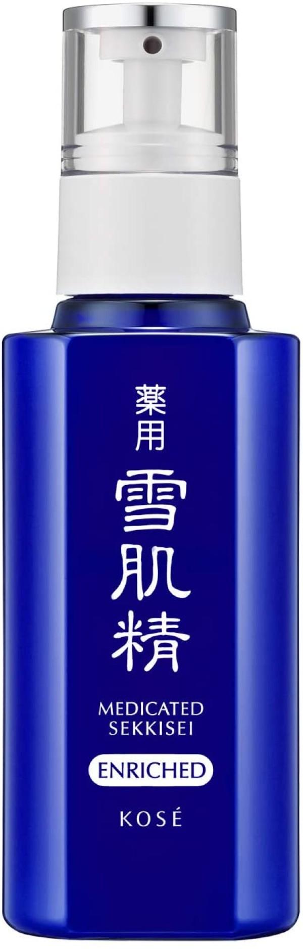 Питательная отбеливающая и увлажняющая эмульсия KOSE Sekkisei Medicated Enriched