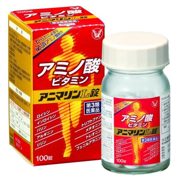 Комплекс для укрепления здоровья с незаменимыми аминокислотами Taisho Amino Acid L