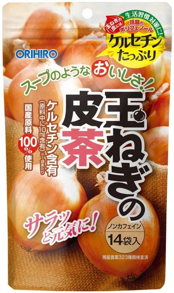 Луковый чай в капсулах Orihiro