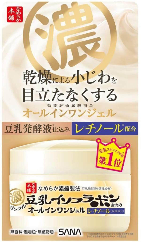 Крем - гель от морщин Sana Nameraka Honpo Wrinkle Cream