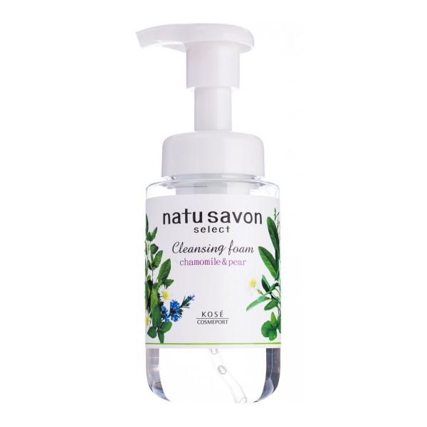 Пенка для умывания KOSE Natu Savon Cleansing Foam