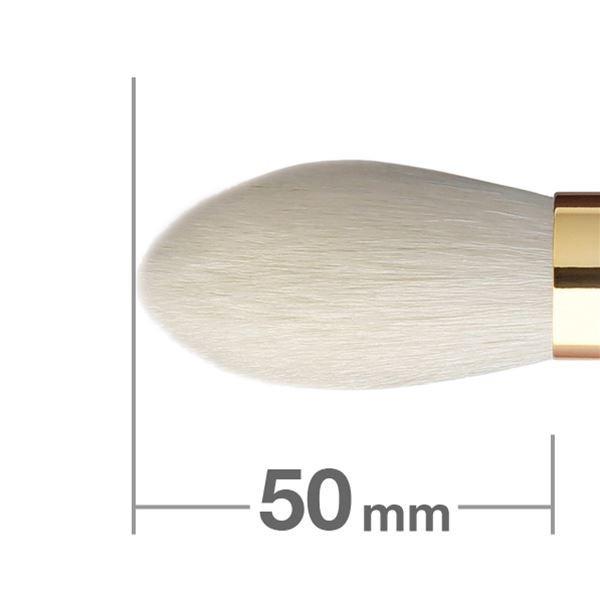 Кисть для румян HAKUHODO Blush Brush Tapered S103Bk