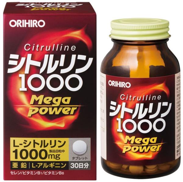 Комплекс с цитруллином Orihiro Mega Power 1000