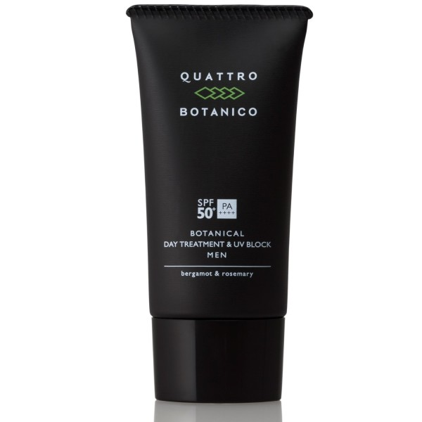 Солнцезащитная эмульсия QUATTRO BOTANICO BOTANICAL DAY TREATMENT & UV BLOCK MEN SPF50  РА ++++