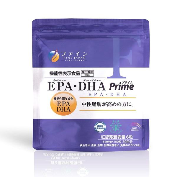 Комплекс для снижения нейтрального жира FINE JAPAN EPA DHA Prime
