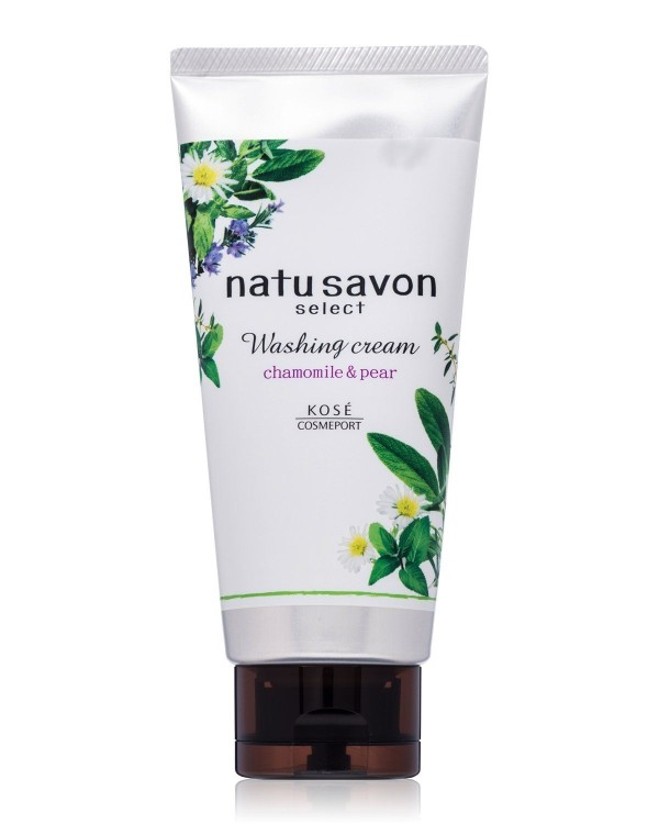 Крем-гель для умывания KOSE Natu Savon Washing Cream