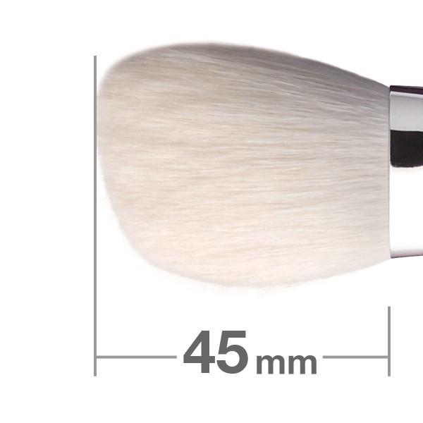 Кисть для пудры HAKUHODO Powder Brush Angled J531