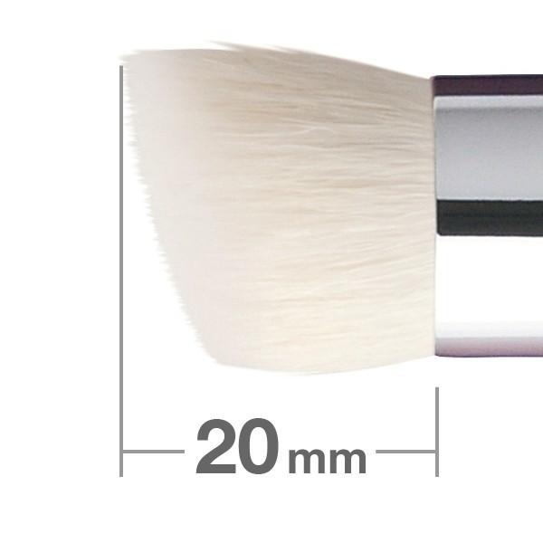 Кисть для пудры и основы HAKUHODO Powder & Liquid Foundation Brush Rd&Agld 2mm G5553