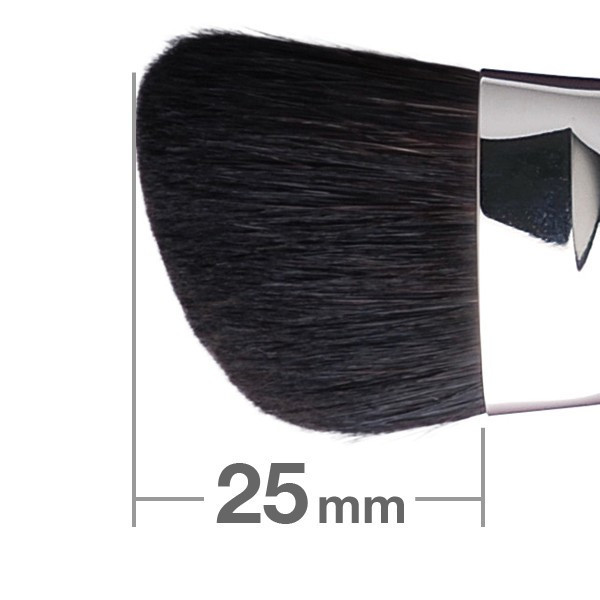 Кисть для румян HAKUHODO Blush Brush M Angled G504