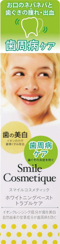 Лечебная зубная паста Smile Cosmetique при воспалении дёсен