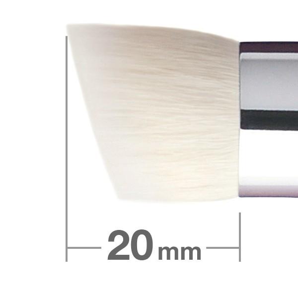 Кисть для пудры и основы HAKUHODO Powder & Liquid Foundation Brush Rd&Agld 4mm G5552