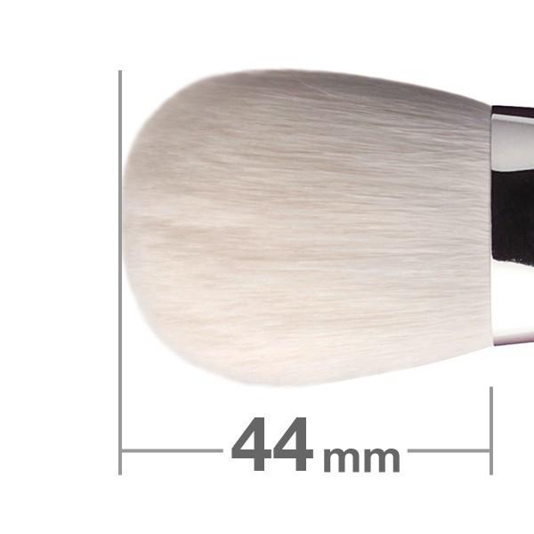 Кисть для румян HAKUHODO Blush Brush  Round & Flat J501