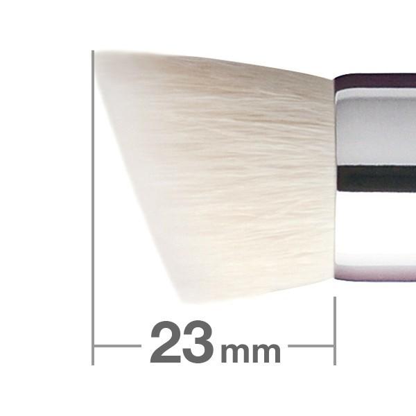 Кисть для пудры и основы HAKUHODO Powder & Liquid Foundation Rd&Agld 4mm G5554