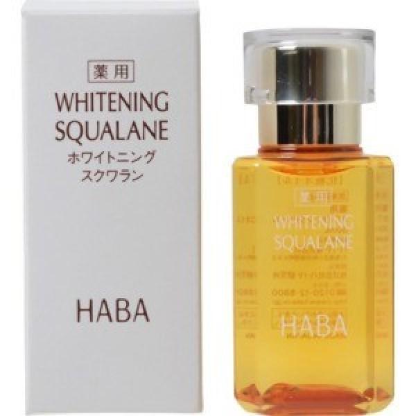 100 % масло сквалана HABA с отбеливающим эффектом 15 мл