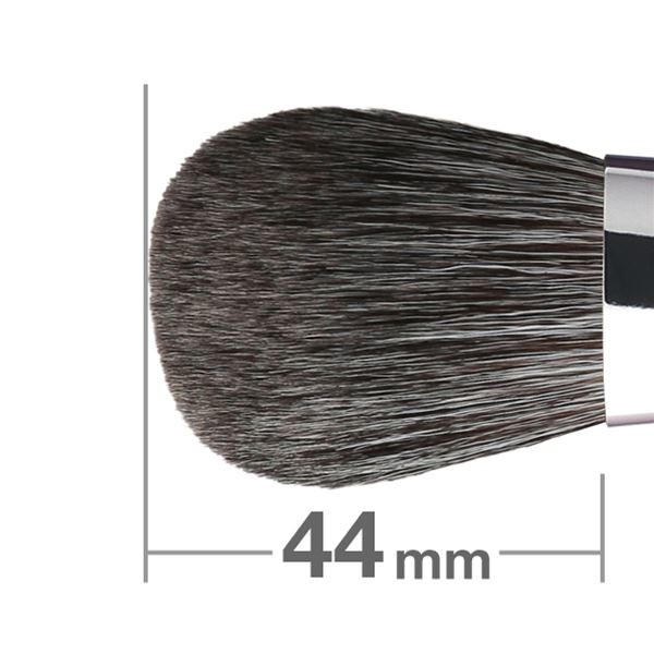 Кисть для румян HAKUHODO Blush Brush L Round & Flat G502