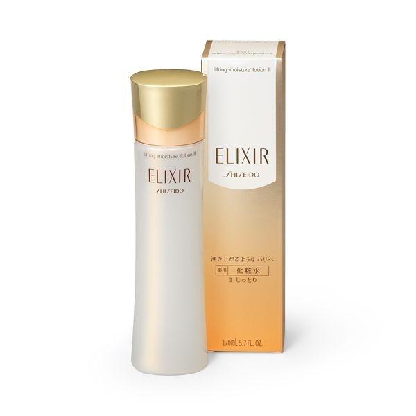 Увлажняющий лосьон для упругости кожи Shiseido ELIXIR SUPERIEUR Lifting Moisture Lotion II для нормальной кожи и склонной к сухости