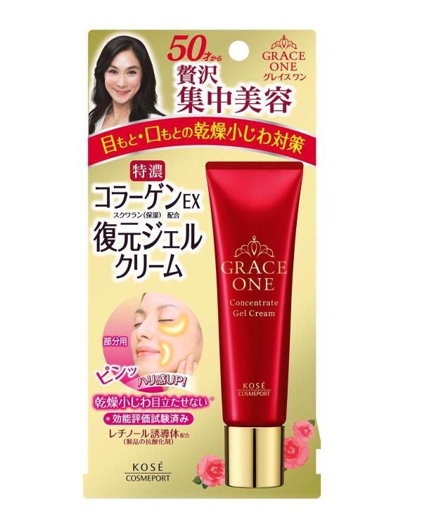 Омолаживающий крем для век KOSE Cosmeport Grace One Concentrated Gel Cream