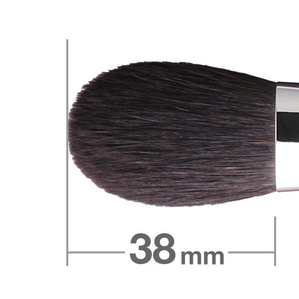 Кисть для румян HAKUHODO Blush Brush Round & Flat K020