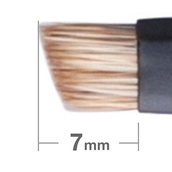 Кисть для бровей HAKUHODO Kokutan Portable Eyebrow Brush