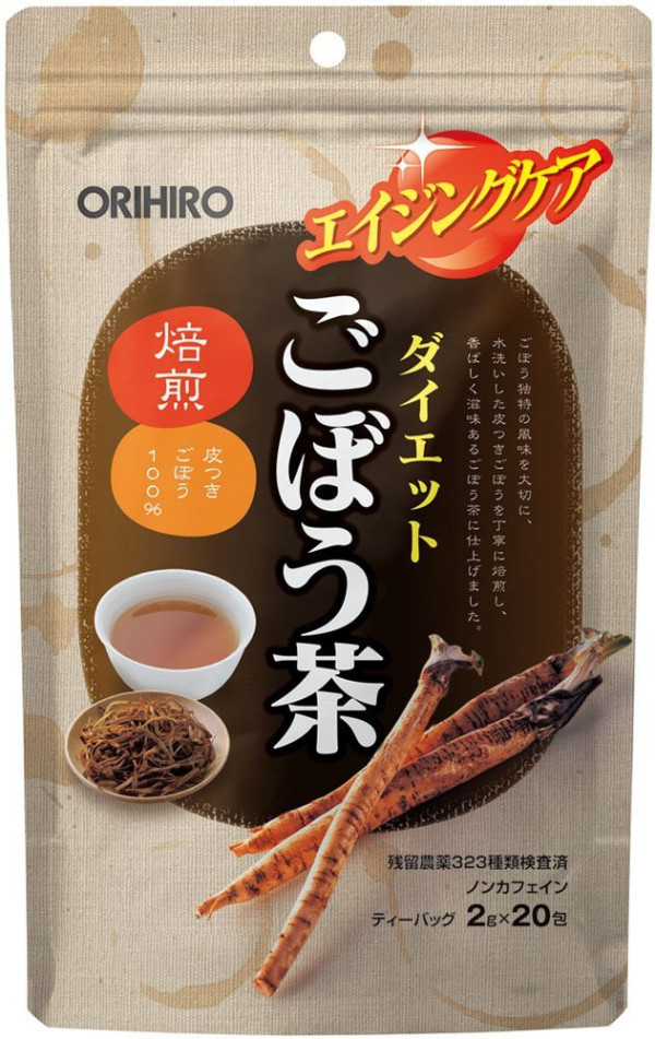 Чай с корнем лопуха Orihiro Burdock Tea