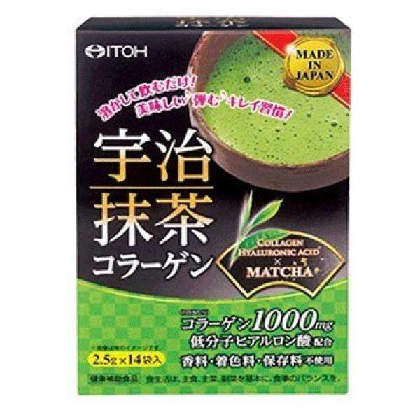 Зеленый чай с коллагеном ITOH Uji Green Tea Collagen