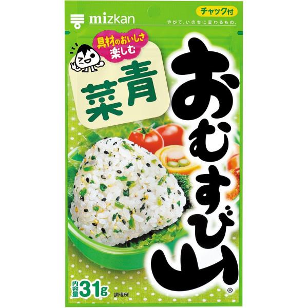 Натуральная приправа к рису Mizkan Omusubiyama с овощами
