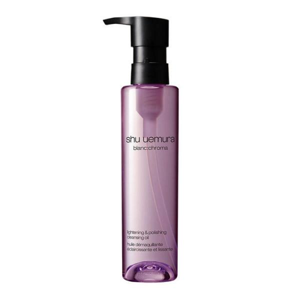 Осветляющее гидрофильное масло с древесным углем Shu Uemura Blanc:Chroma Lightening And Polishing Cleansing Oil