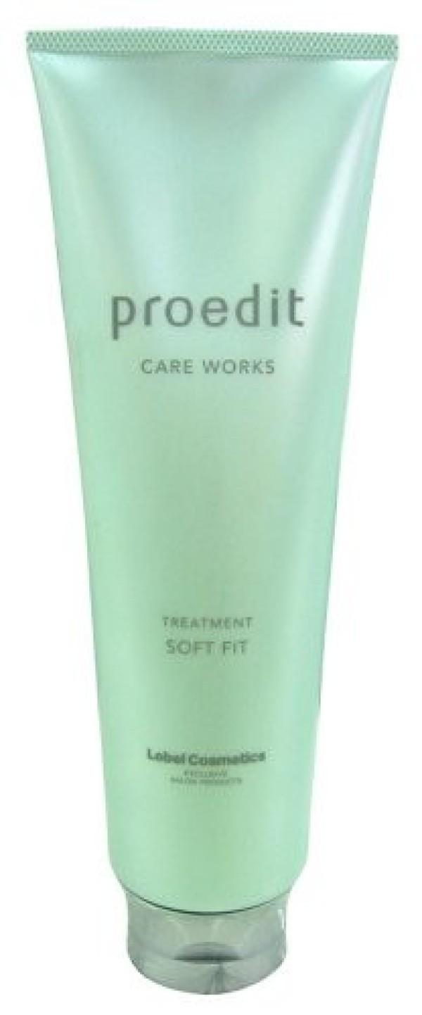 Увлажняющая маска LEBEL PROEDIT CARE WORKS TREATMENT SOFT FIT для для ухода за сухими и жесткими волосами