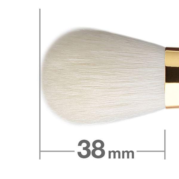 Кисть для румян HAKUHODO Blush Brush Round & Flat S110
