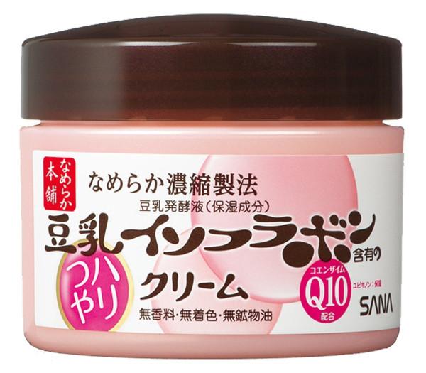 Увлажняющий крем с коэнзимом Q10 Sana Nameraka Haritsuya Cream N