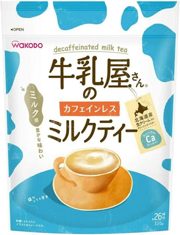 Молочный чай Wakodo Decaffeinated Milk Tea без кофеина