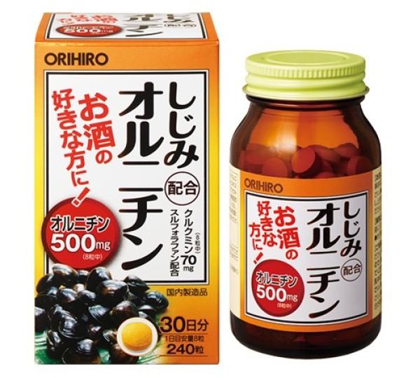Орнитин Orihiro для здоровья печени