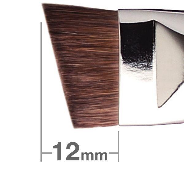Кисть для бровей Hakuhodo Eyebrow Brush LL Angled J535H
