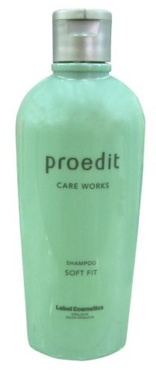 Увлажняющий шампунь LEBEL PROEDIT CARE WORKS SHAMPOO SOFT FIT для для ухода за сухими и жесткими волосами